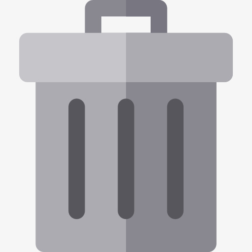 Recycling Bins, Trash Can, Cartoon, Gray Png Image And Clipart