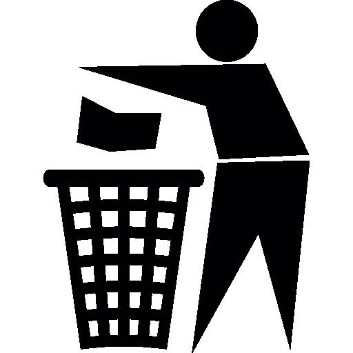 Throw To Paper Bin