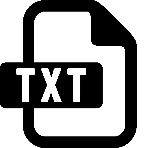 S Txt Icon Windows Iconset
