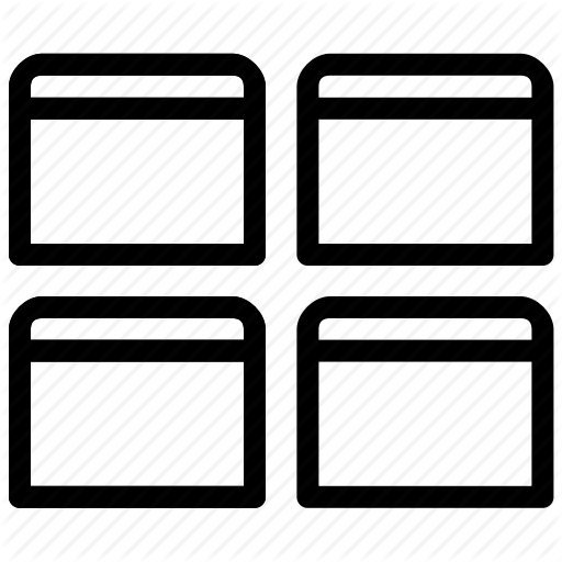 Alignment, Show All Views, Windows Icon