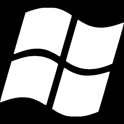White Os Windows Icon