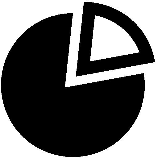 Data Pie Icon Windows Iconset