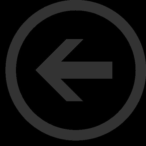 Left Round Arrow, Izquierda, Redondo Icon Free Of Windows Icon
