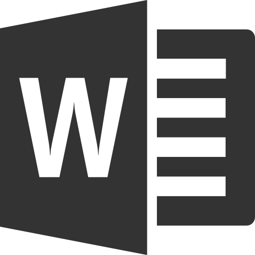 Word Icons Windows