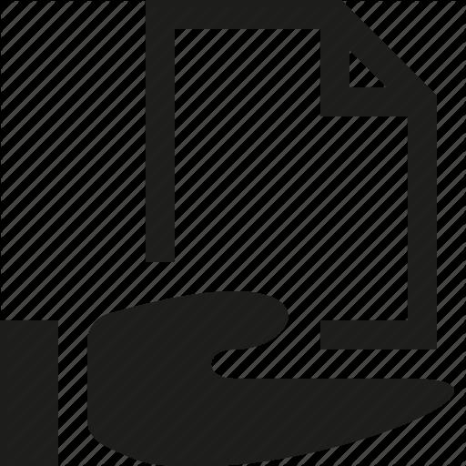 Folder, Hand, Shared Icon