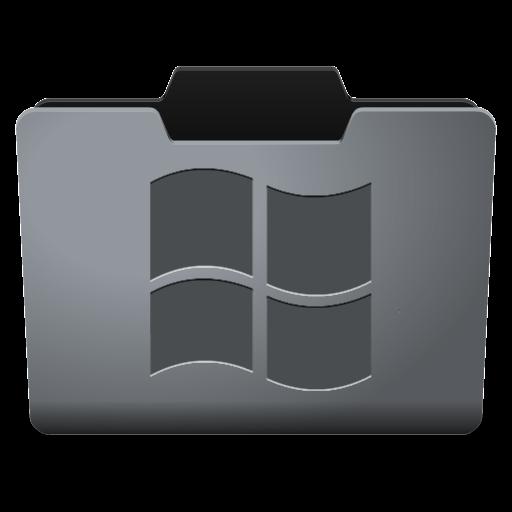 Steel Windows Icon