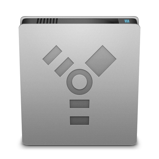 Hard Drive Firewire Icon
