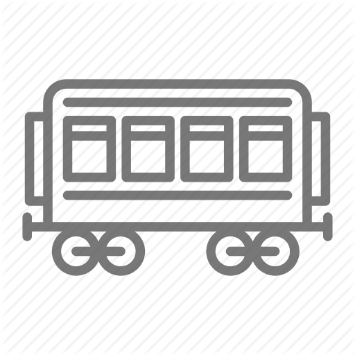 Passenger, Railroad, Train, Trolley, Windows Icon