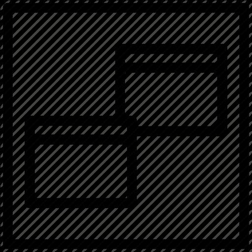 Alignment, Restore Window, Windows Icon