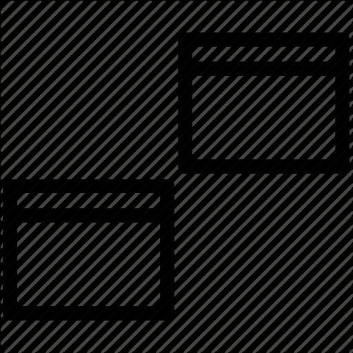 Alignment, Show Non Hidden Views, Windows Icon
