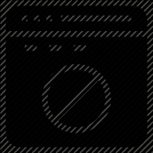 Ban, Block, Internet, Webpage, Window Icon