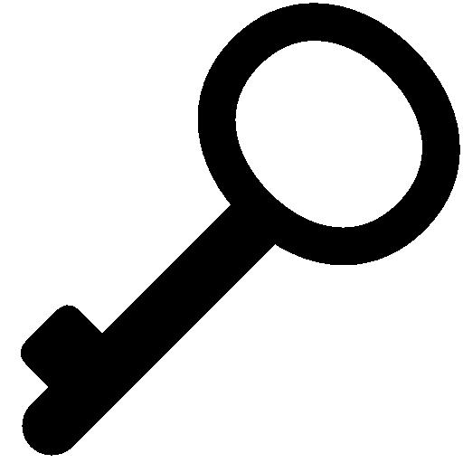 Very Basic Key Icon Windows Iconset