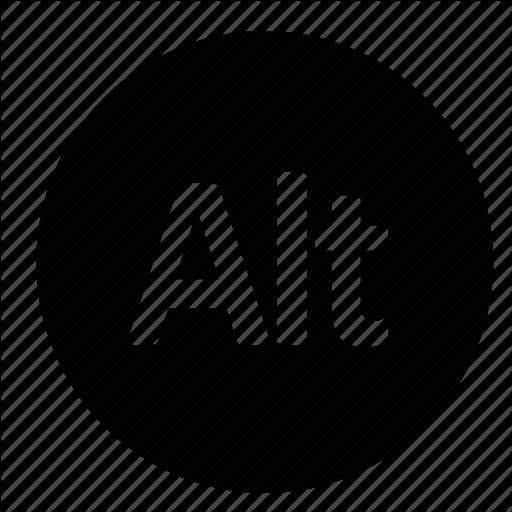 Alt Key, Circle, Interface, Keyboard, Ui, Ux, Windows Icon