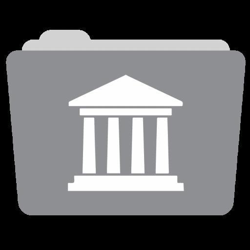 Folder Library Icon Style Megapack Iconset Hamza Saleem