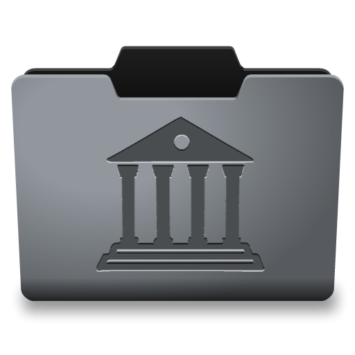 Steel Library Icon