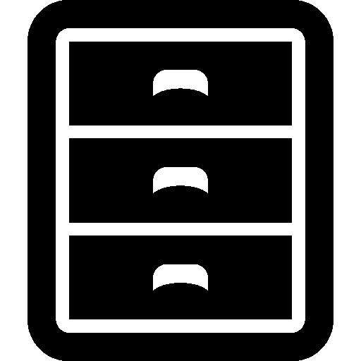 Data Filing Cabinet Icon Windows Iconset