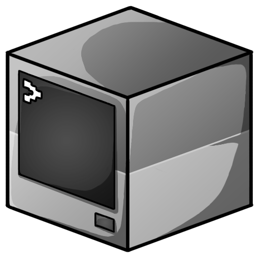Computer Icon Minecraft Iconset