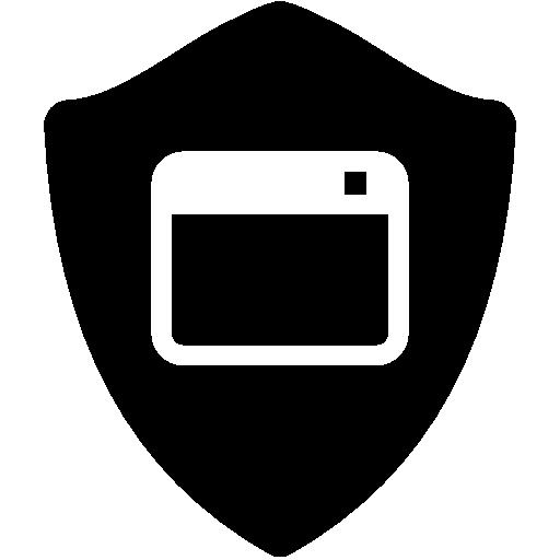 Application Shield Icon Free Download