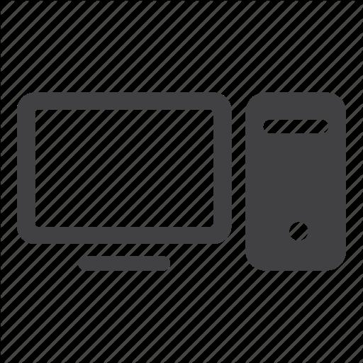 Desktop Pc Icon