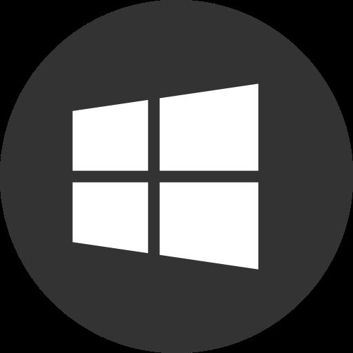Media, Online, Operating, Social, System, Windows Icon
