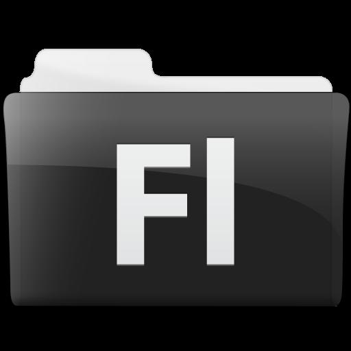 Folder Adobe Flash Icon