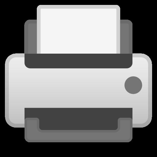 Printer Icon Noto Emoji Objects Iconset Google
