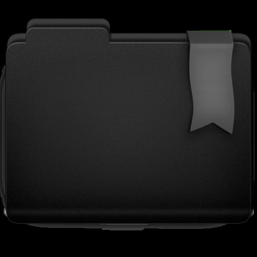 Ribbon Silver Folder Icon