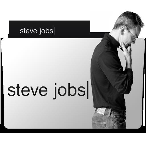 Steve Jobs Folder Icon