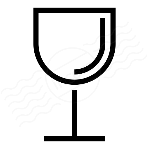 Iconexperience I Collection Wine Glass Icon