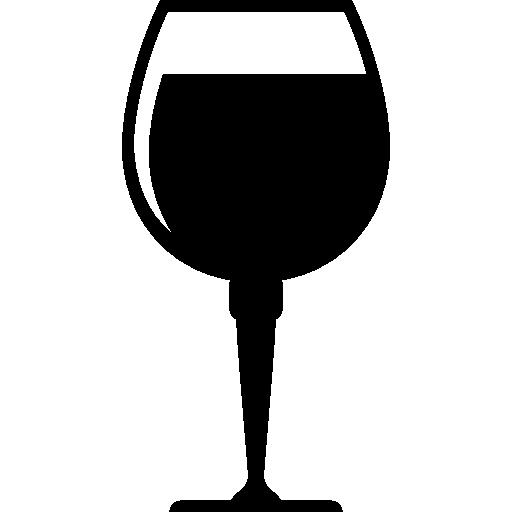 Wine Glass Full Of Drink