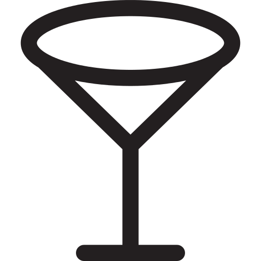 Empty Wine Glass Png Icon
