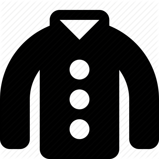 Clothes, Clothing, Coat, Winter Icon