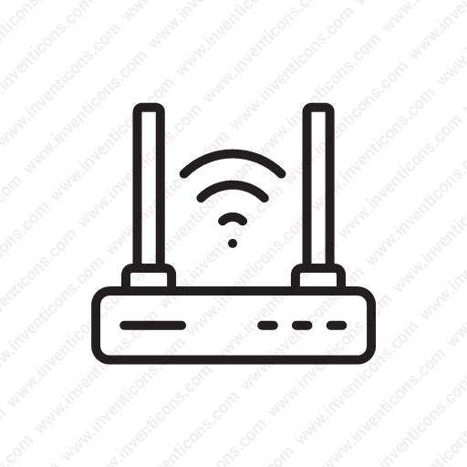 Download Wifi,network,wireless,transmitter,internet Icon Inventicons