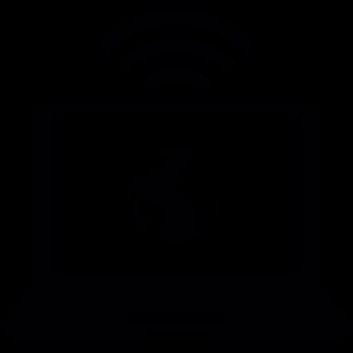 Worldwide, Wifi, Wireless Connection Icon