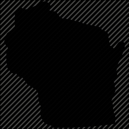 Wi State, Wisconsin, Wisconsin Map, Wisconsin State Icon
