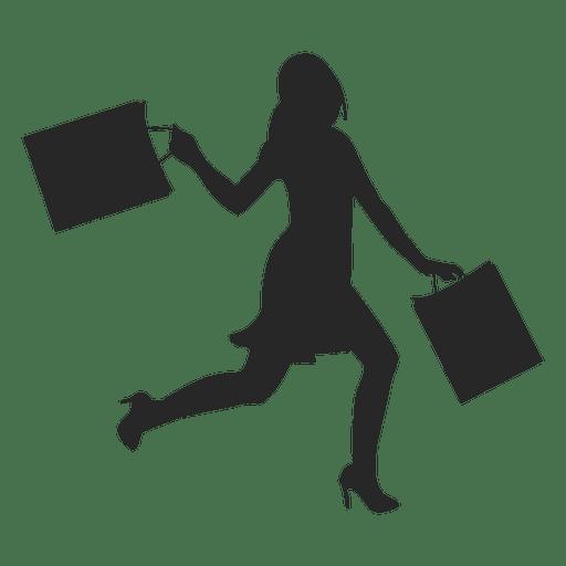 Shopping Woman Icon