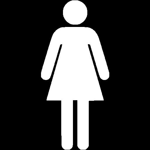 White Woman Icon