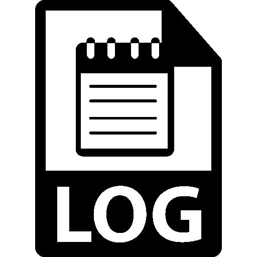 Log Format Icons Free Download