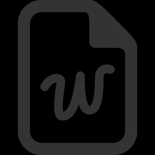 Word Icon Free Of Windows Icon