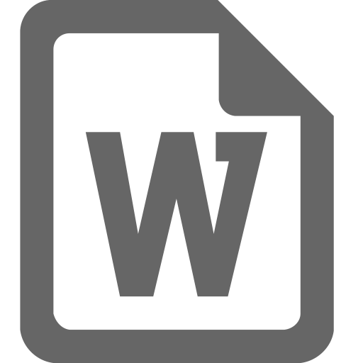 Word Icon Png