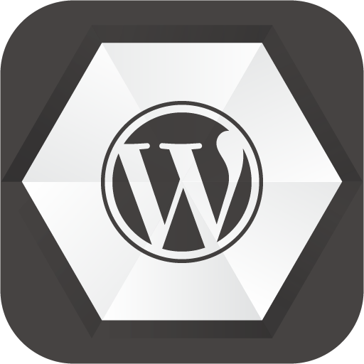Wordpress Icon Noir Social Media Iconset Uiconstock
