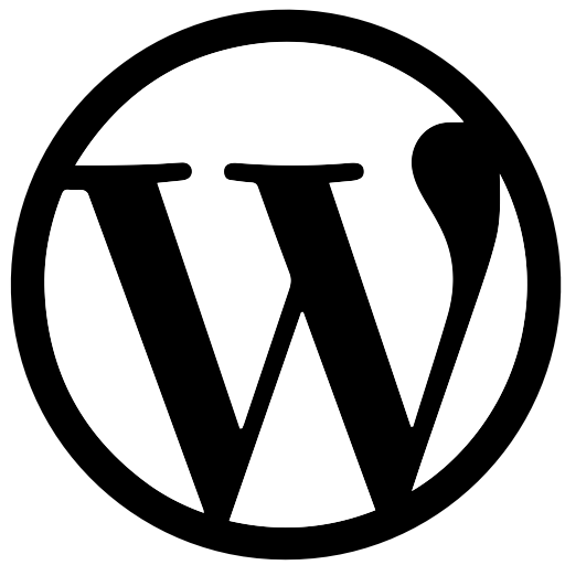 Social Media Wordpress Glyph Icon