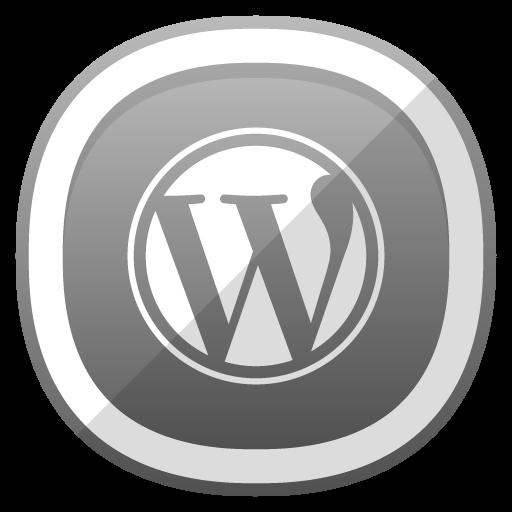 Wordpress Icon Free Cute Shaded Social Iconset Designbolts