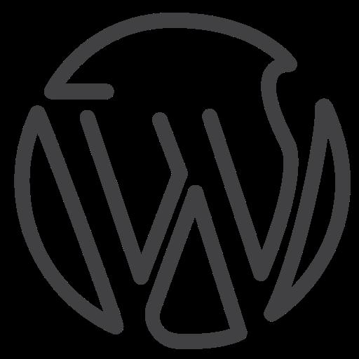 Media, Social Media, Wordpress Icon