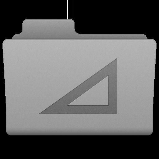 Grey Work Folder Icon