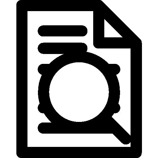 Research Work Icon Minimal Universal Theme Freepik