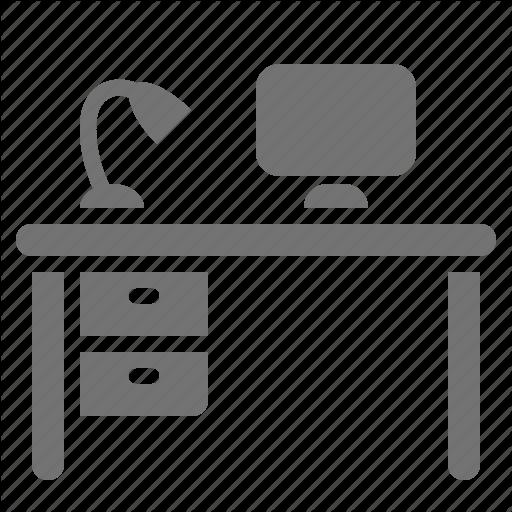 Computer, Cubicle, Desk, Desktop, Office, Work, Workspace Icon
