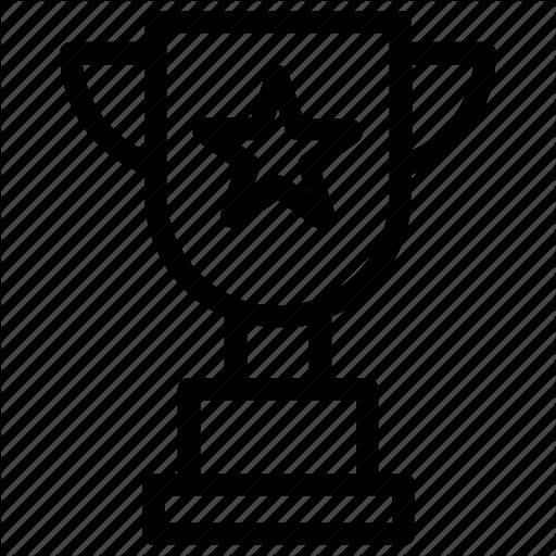 Champion Trophy, Sports Trophy, Trophy, Winner Symbol, World Cup Icon