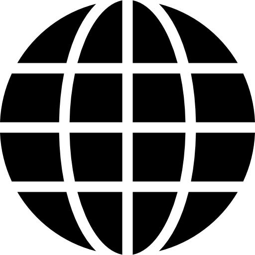Earth Globe Symbol Of Grid Free Vector Icons Designed