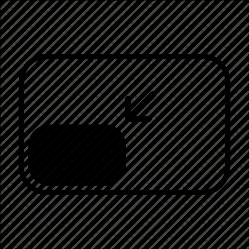 Bottom, Corner, Left, Location, Position, Snap, Window Icon